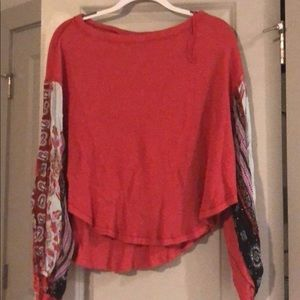 Anthropologie top. Used twice